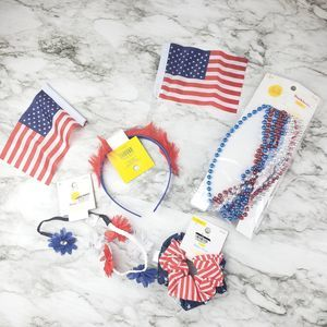(3/$15) NEW USA Bundle - Flower Crown Beads